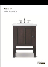 Kohler Bathroom Sinks Storage