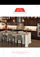 Merillat classic Classic Product line Brochure 2014