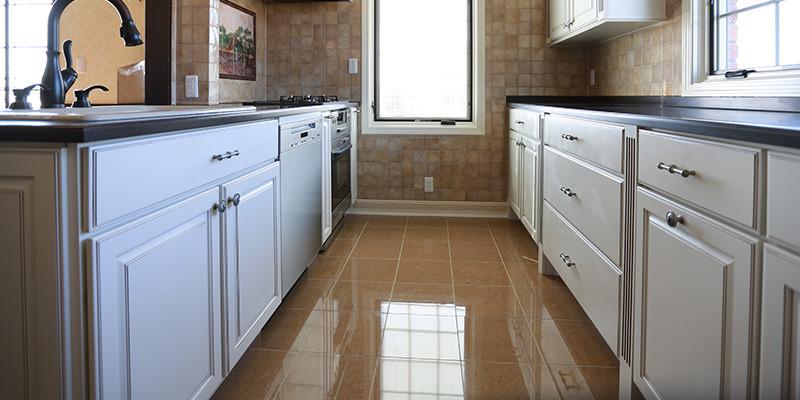 輸入キッチンの施工事例