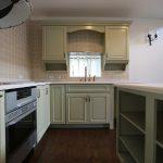 クラフトメイド輸入キッチンの施工事例:蓼科の家